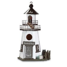 Lighthouse Lookout Hanging Birdhouse