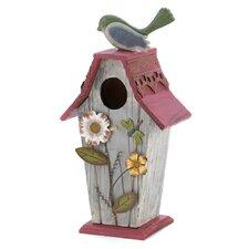 Busy Garden Freestanding Birdhouse