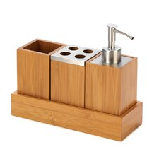 4 Piece Bath Organizer Set