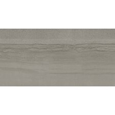 "Amelia Series 24"" x 12"" Porcelain Polished Tile in Smoke"