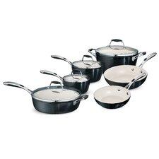 Gourmet Ceramica Deluxe 10 Piece Cookware Set