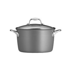 Gourmet Hard Anodized 8-qt. Stock Pot with Lid