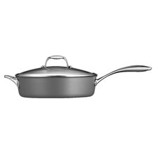 Gourmet Hard Anodized 5.5-qt. Saute Pan with Lid