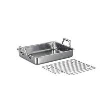 "Gourmet Prima 13.5"" Lasagna Roasting Pan  with Basting Grill"