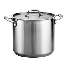 Gourmet Stainless Steel Stock Pot with Lid