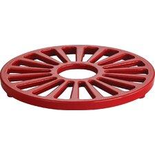 Gourmet Enameled Cast Iron Round Trivet