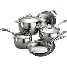 Gourmet Domus 9 Piece Stainless Steel Cookware Set