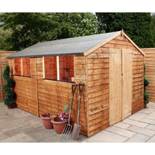10 x 8 Overlap Apex Shed