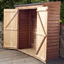 6 x 3 Wooden Tool Shed