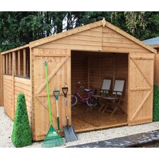 10 x 10 Overlap Apex Shed
