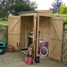 6 x 2 Wooden Storage Shed