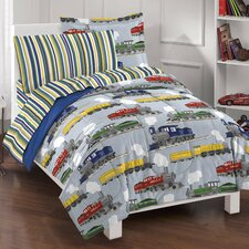 Trains Bed Set