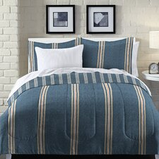 Heathered Stripe Bed in a Bag Set