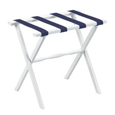 Deluxe Straight Leg Luggage Rack with 4 Nylon Straps