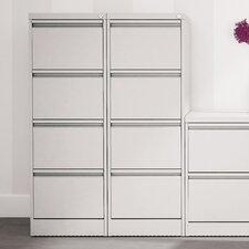 M:Line 4-Drawer Vertical Filing Cabinet