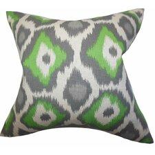 Becan Ikat Cotton Throw Pillow