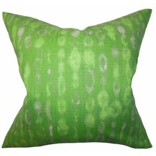 Verve Geometric Cotton Throw Pillow