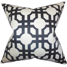 Aebba Tile Cotton Throw Pillow
