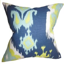Djuna Ikat Throw Pillow
