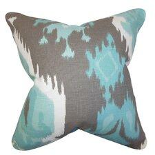 Djuna Ikat Throw Pillow