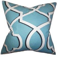 Curan Geometric Cotton Throw Pillow