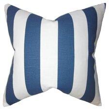 Acantha Stripes Cotton Throw Pillow