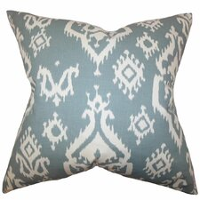 Baraka Ikat Throw Pillow
