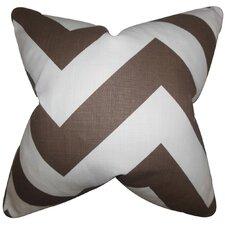 Eir Chevron Cotton Throw Pillow