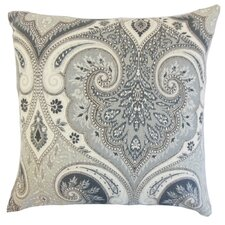 Kirrily Damask Linen Throw Pillow