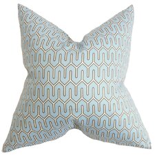 Aleeza Geometric Cotton Throw Pillow