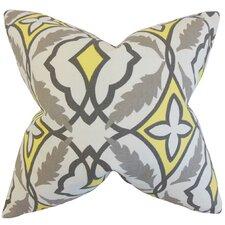Beck Geometric Cotton Throw Pillow