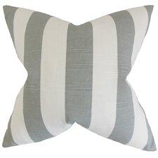 Acantha Striped Cotton Throw Pillow