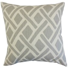 Satchel Geometric Linen Throw Pillow