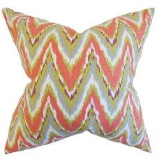 Matisse Zigzag Cotton Throw Pillow