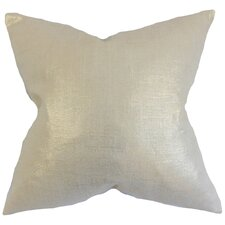 Florin Solid Throw Pillow