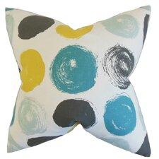 Xenophon Geometric Cotton Throw Pillow