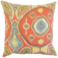Janvier Ikat Linen Throw Pillow