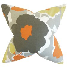 Saar Floral Cotton Throw Pillow