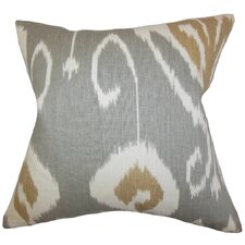 Cleon Ikat Throw Pillow