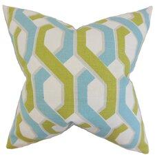 Chauncey Geometric Cotton Throw Pillow