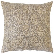 Danyale Paisley Cotton Throw Pillow