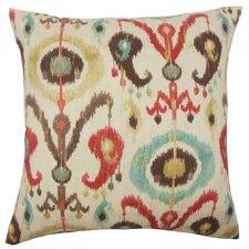Ikea Ikat Cotton Throw Pillow