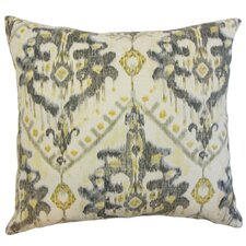 Picabia Ikat Throw Pillow