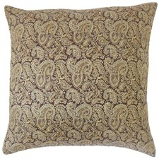 Laraib Paisley Cotton Throw Pillow