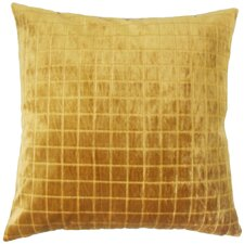 Floyce Solid Velvet Throw Pillow