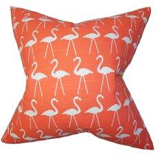 Elili Animal Print Cotton Throw Pillow