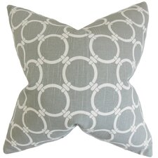 Betchet Geometric Cotton Throw Pillow Cover