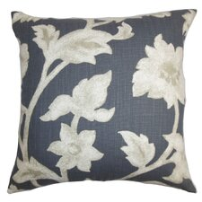 Taina Floral Cotton Throw Pillow Cover