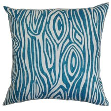 Thirza Swirls Cotton Throw Pillow