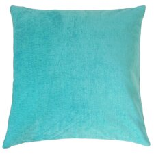 Elior Solid Velvet Throw Pillow